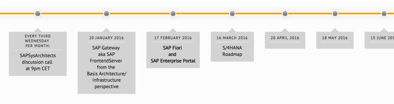 Introducing: Monthly Call To Discuss SAP Basis