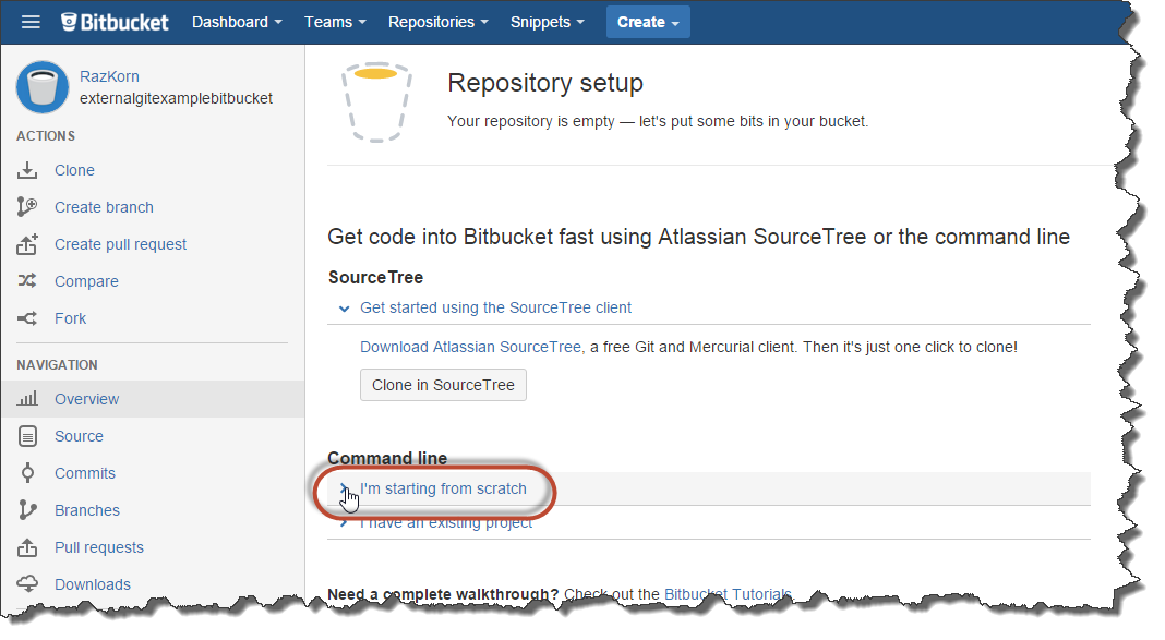 Want to use Bitbucket as your Project Repository with SAP