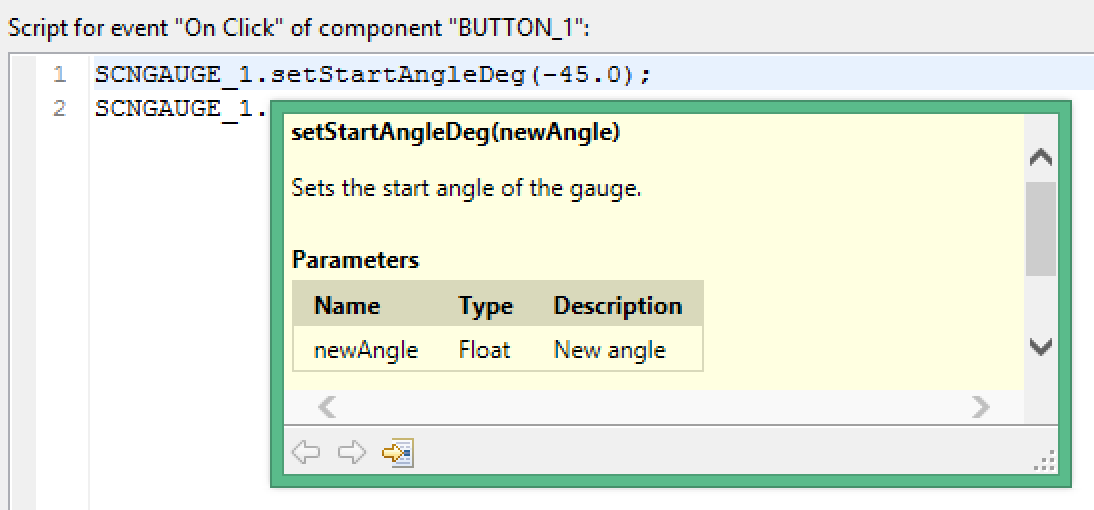 your first extension part 5 making your component scriptable