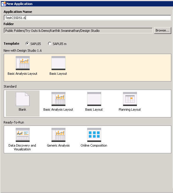 new application window in SAP BusinessObjects DesignStudio 1.6.png