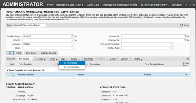 Form Templates Easy Editor Sap Blogs
