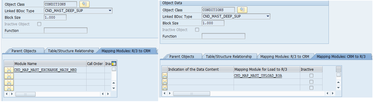 debugging conditions upload from crm to ecc sap blogs