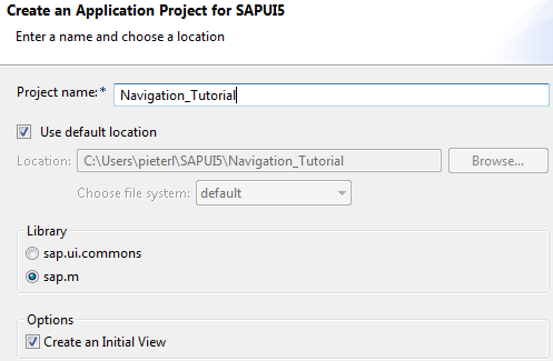 XML Views with Navigation in SAPUI5 | SAP Blogs