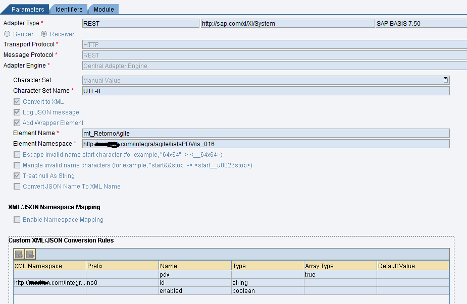 REST Adapter in PI/PO: Enhanced XML/JSON Conversion | SAP Blogs
