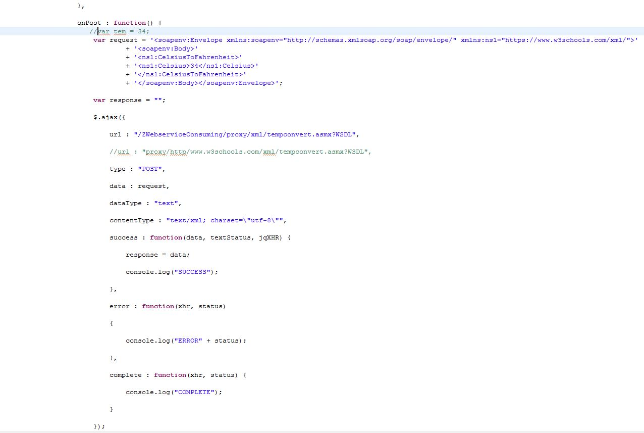 An insight into consuming webservices from sap ui5 sap blogs and this is my controller code xflitez Choice Image