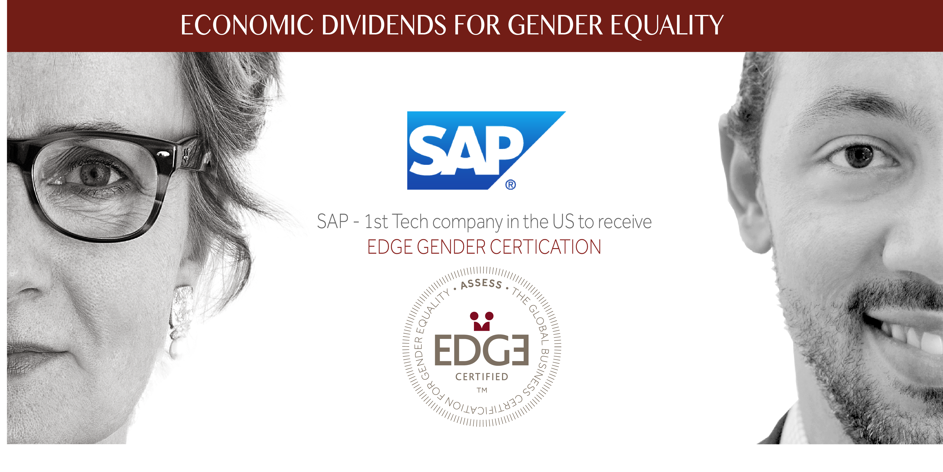 SAP- 1st Tech Company in the U.S. to Receive EDGE Gender Equality ...