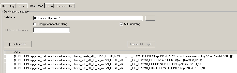 Bending SAP IDM Stored Procedures to your Will | SAP Blogs