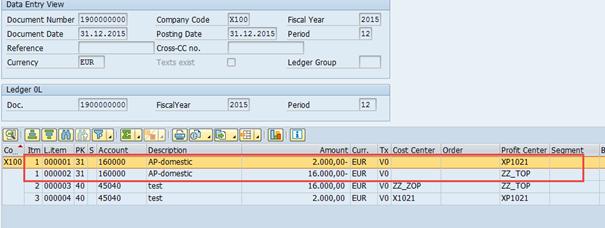 Example Document Splitting Vendor Invoice Splitting By Profit