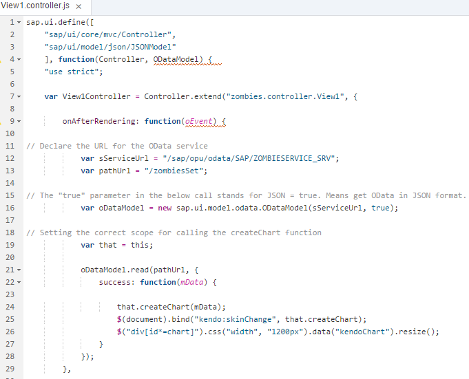 Working with Kendo UI controls in SAPUI5 | SAP Blogs
