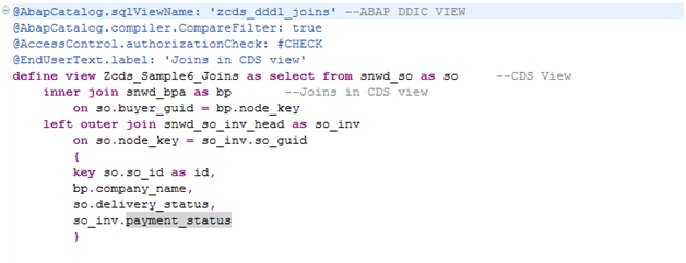 Core Data Services in ABAP | SAP Blogs