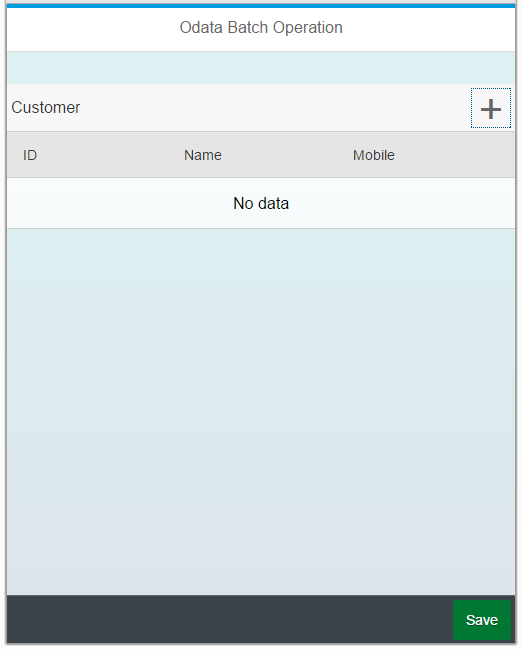 BATCH PROCESSING WITH XSODATA | SAP Blogs