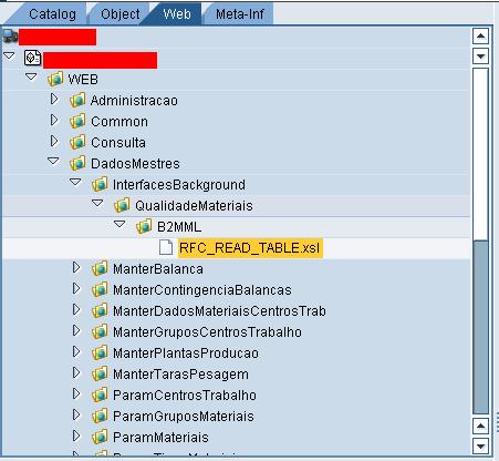 b2mml implementation in rfc read table using xsl transformation