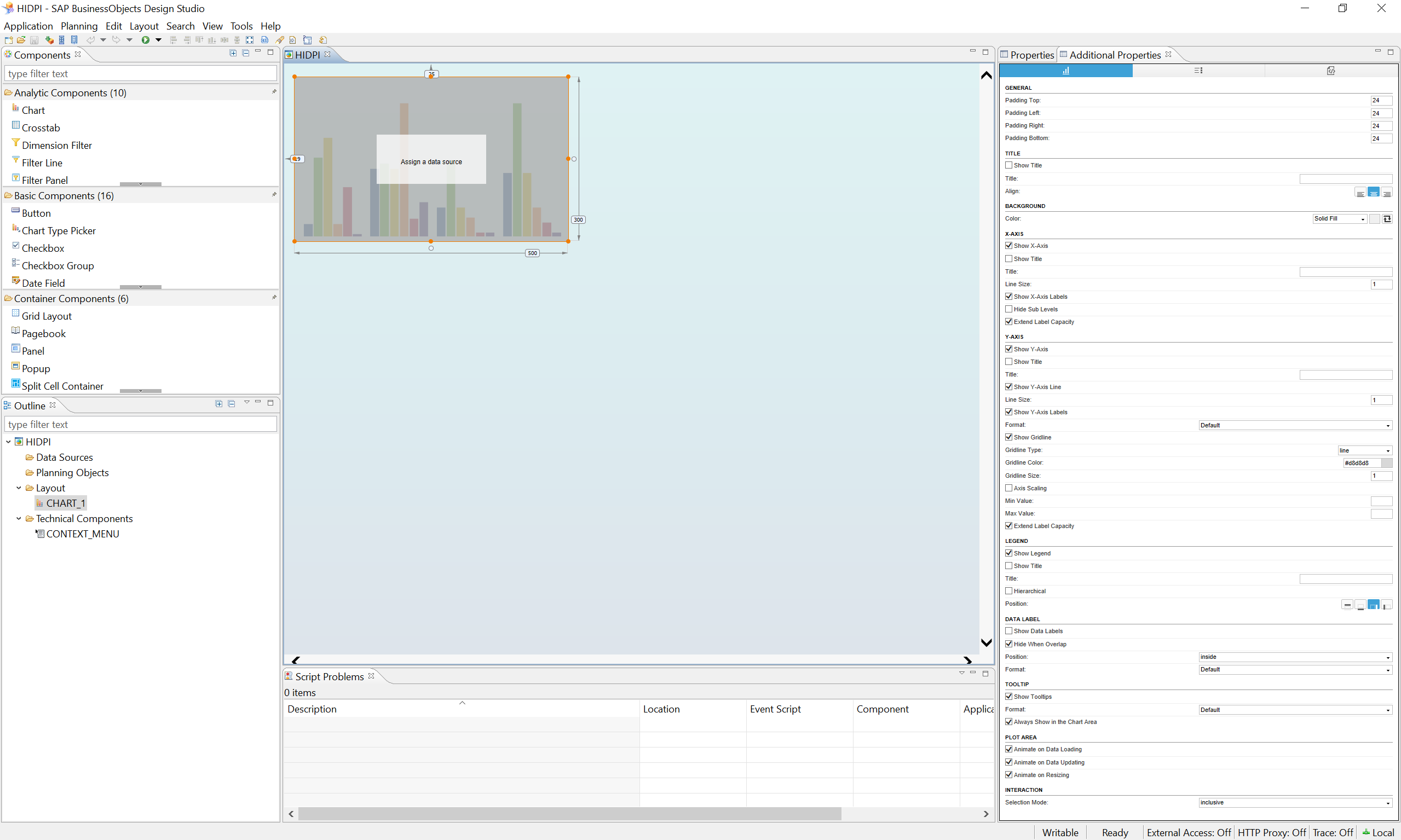 running design studio on a high dpi retina display windows 8 x 10