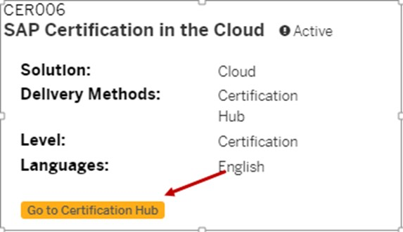 Take your SAP Certification Exams in the Cloud | SAP Blogs