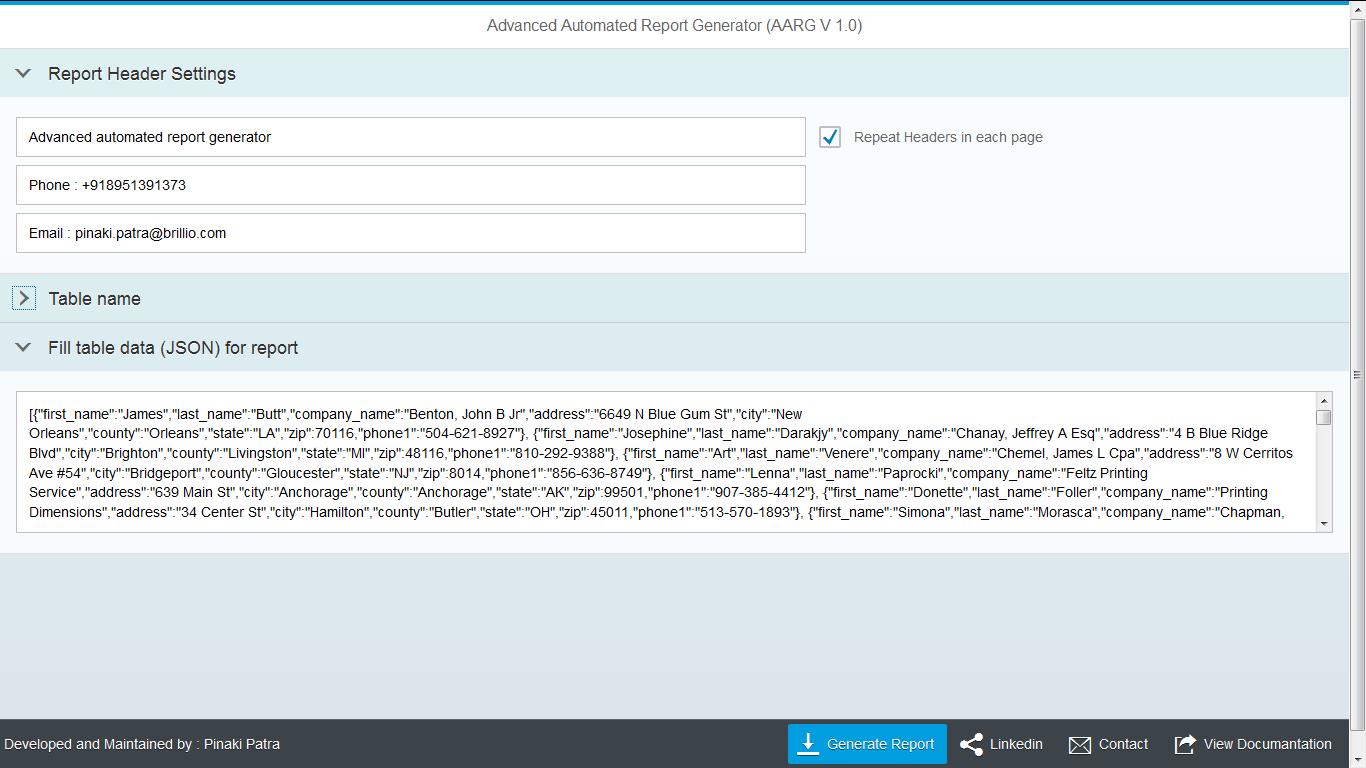 Reporting in UI5 : Custom Framework | SAP Blogs