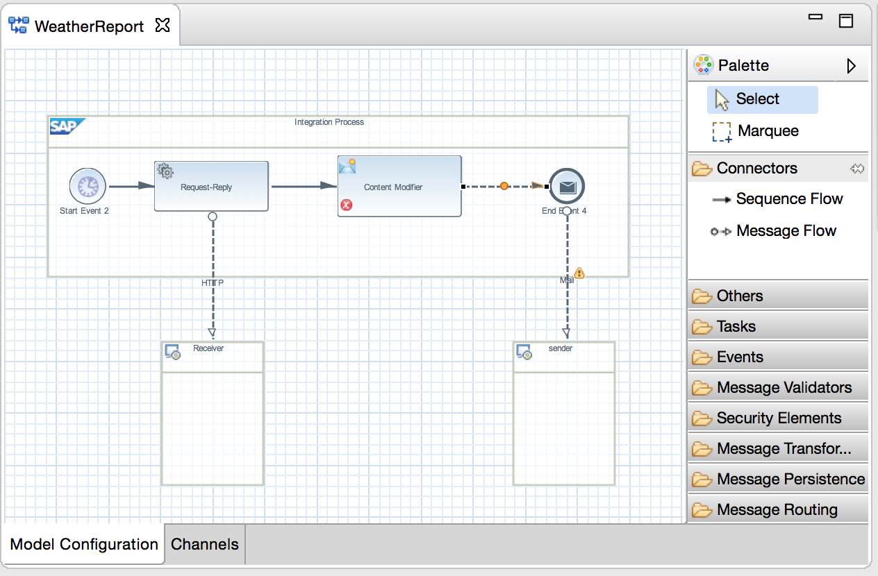 building your first iflow part 5 completing the iflow sap blogs