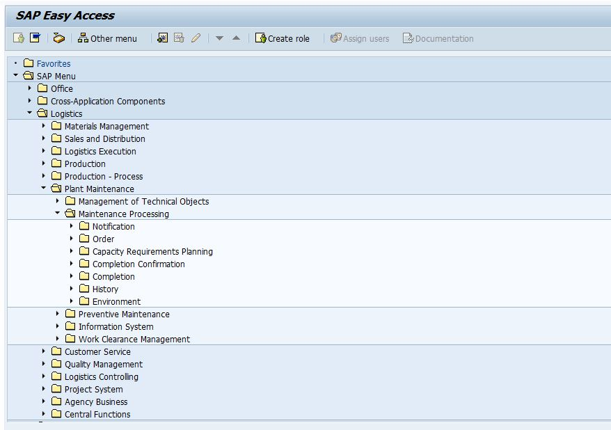 All Standard Reports Under One Transaction Code Sap1 Sap