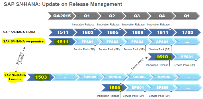 Sap S 4hana Choosing The Right End Release Gt 1503