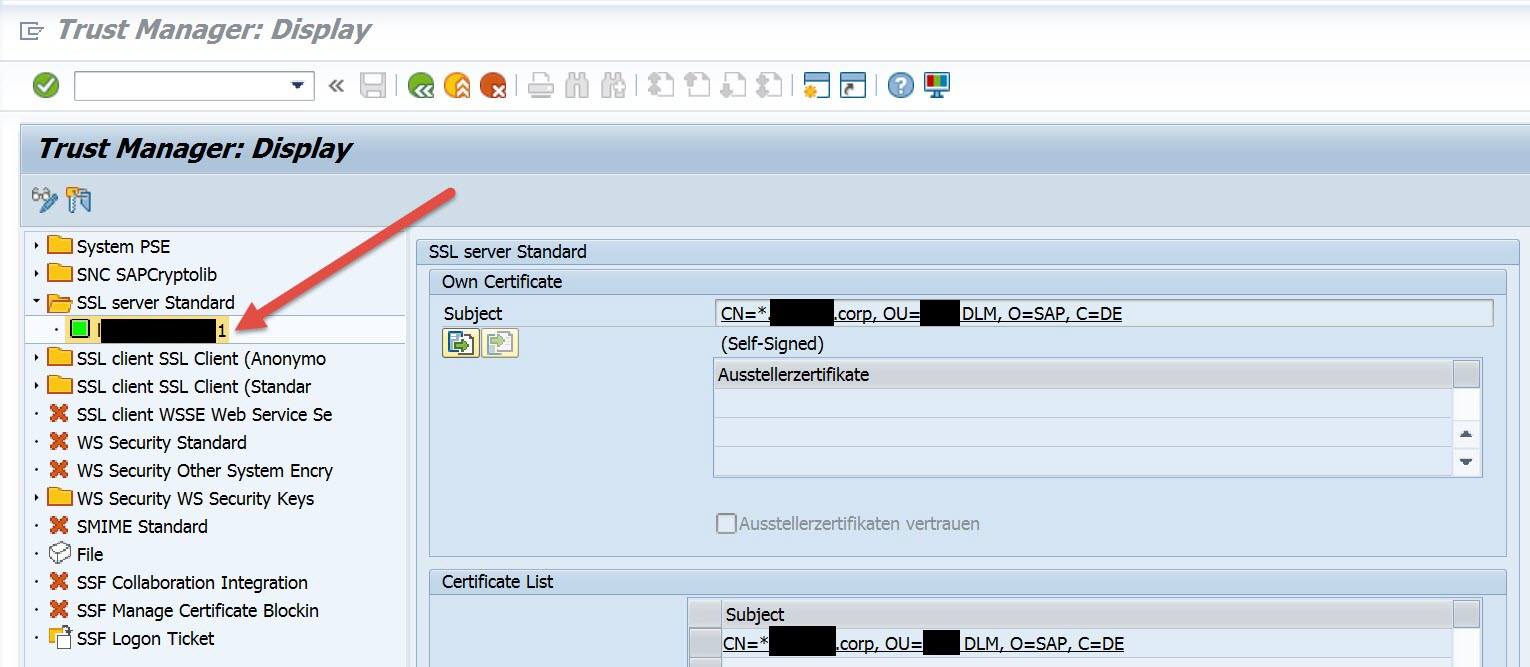 Using the sap web dispatcher for hybris marketing part 2 chapter for security reasons it is recommended that the subject field of the certificate matches 1betcityfo Gallery
