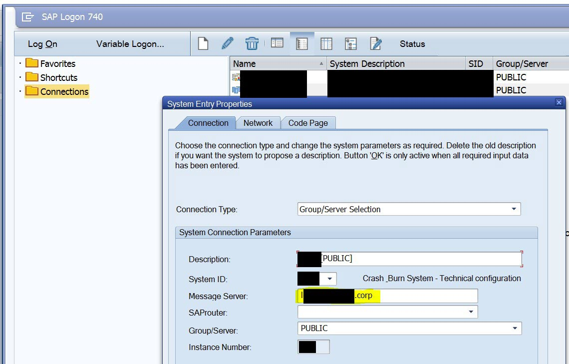 using the sap web dispatcher for hybris marketing part 2 chapter open the profile of the web dispatcher