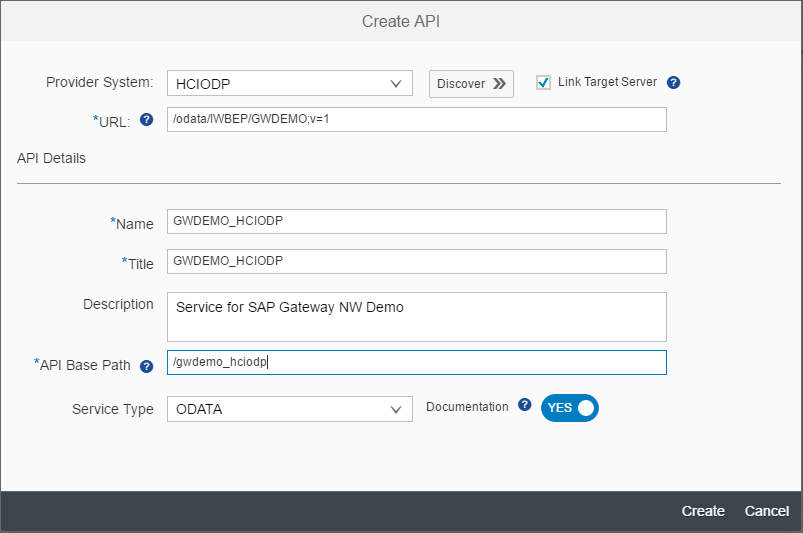 How to expose Gateway Services via HCI OData Provisioning