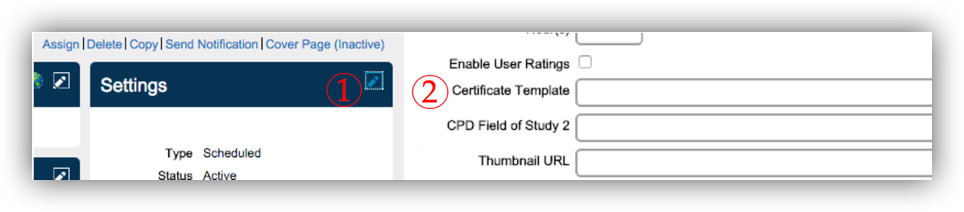New feature certificate of completion editor overview sap blogs missing key functionality yelopaper Gallery
