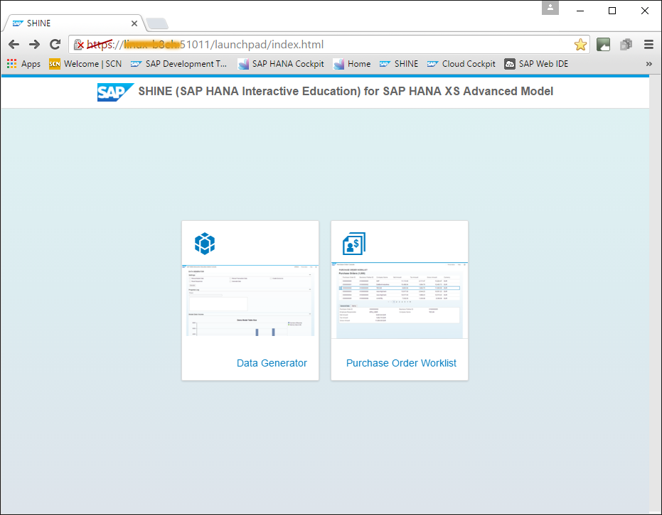 SHINE (SAP HANA Interactive Education) for SAP HANA XS Advanced Model.png