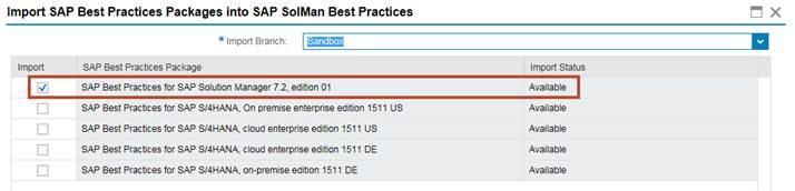 How to download sap best practice.