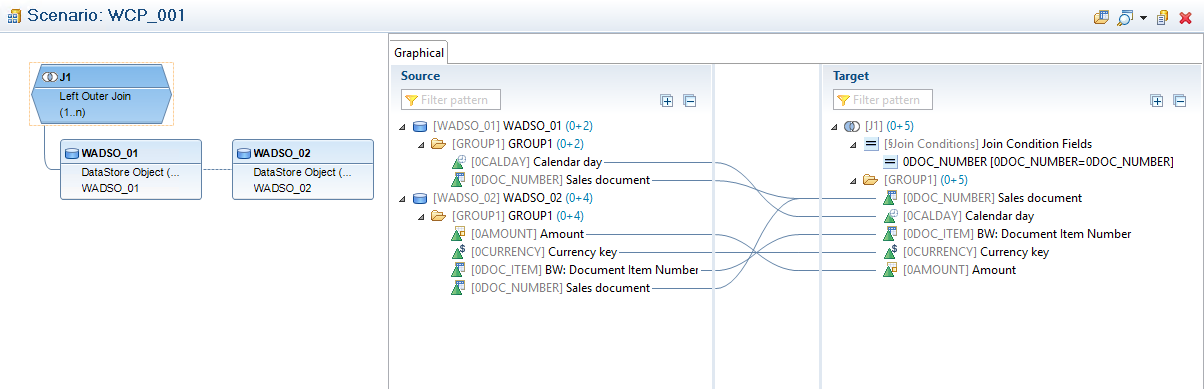 mapping of infoprovider fields in compositeprovider sap blogs