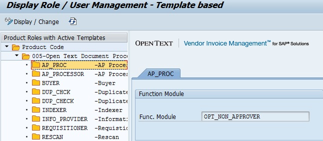 opentext vim: roles creation | sap blogs, Invoice examples