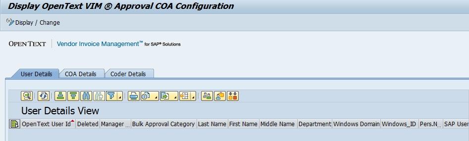 OpenText VIM Roles Creation SAP Blogs - Open text invoice management