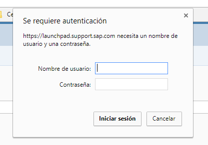 SAP ONE Support Launchpad: Password Self-Service for Support