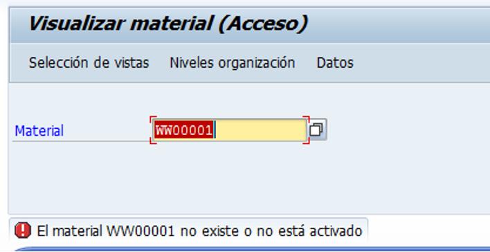 Mensaje SAP Rojo - Consultoria-SAP