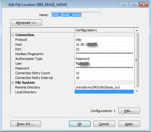 Use File location object to Read(IMPORT) and write(EXPORT