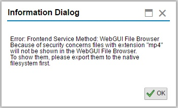 New Feature in the WEBGUI File Browser | SAP Blogs