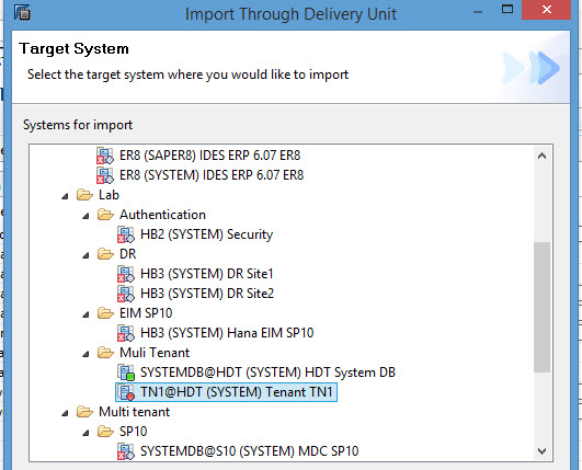 SAP Hana Dynamic Tiering setup on Multi-tenant database with