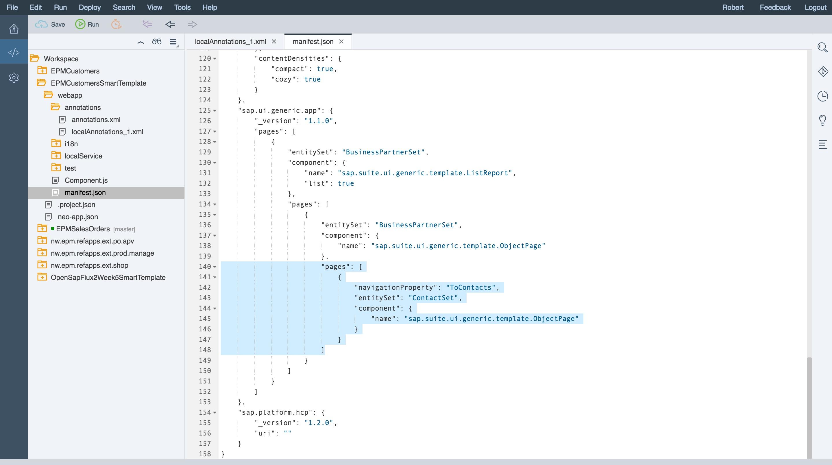 creating an sap fiori smart template application sap blogs