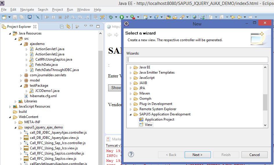 SAP UI 5 – CALLING RFC THROUGH SAP JCO | SAP Blogs