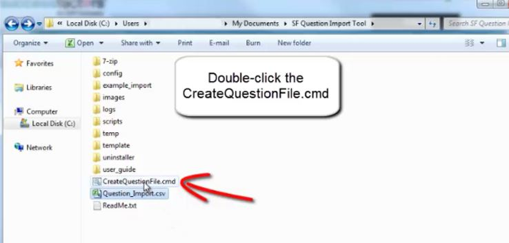 easy method to upload exam questions in learning management system