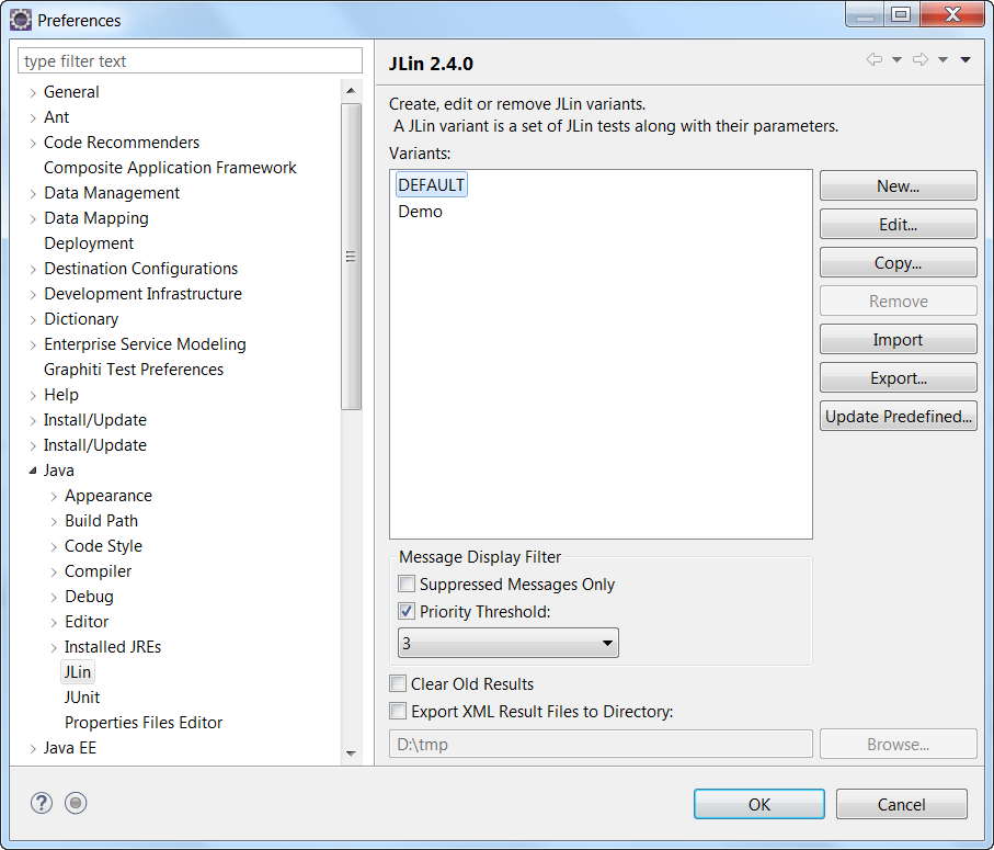 rapid static java source code analysis with jlin in nwds sap blogs