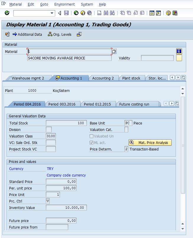 Sap Material Ledger Tables Related Keywords & Suggestions