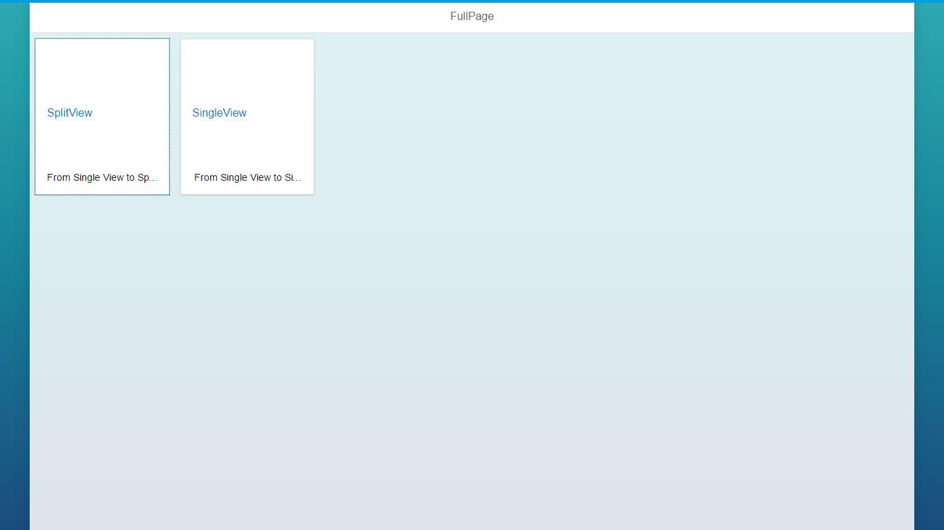 navigation between views app to splitapp to app sap blogs