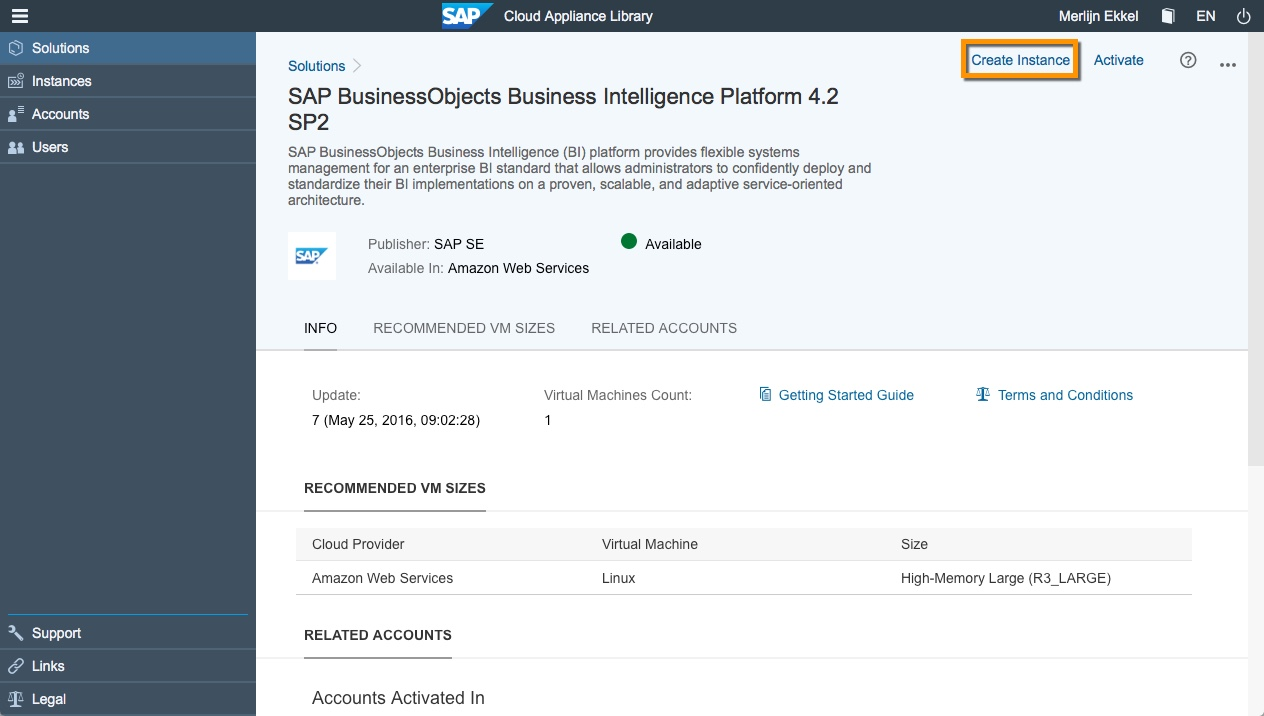 deploy your bi4 2 trial aws sap blogs rh blogs sap com Kindle Getting Started Guide Getting Started Guide Amazon