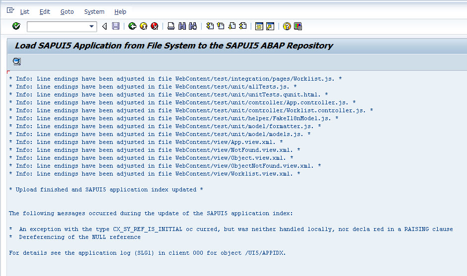 Deploy Web IDE Developed Fiori Application to Local ABAP Repository 26.jpg