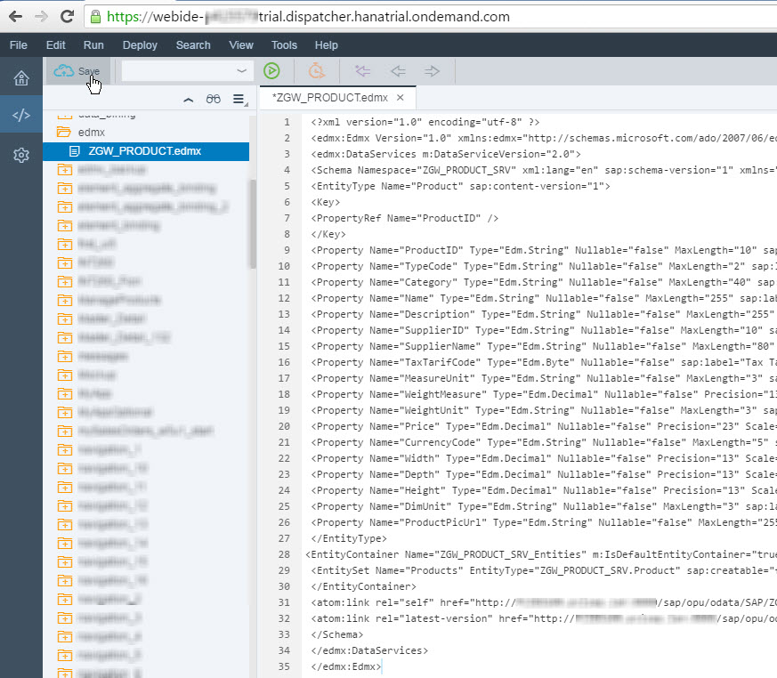 Deploy Web IDE Developed Fiori Application to Local ABAP Repository 2.jpg