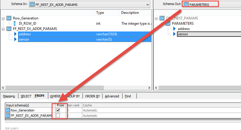 consuming rest web service in sap data services using web service