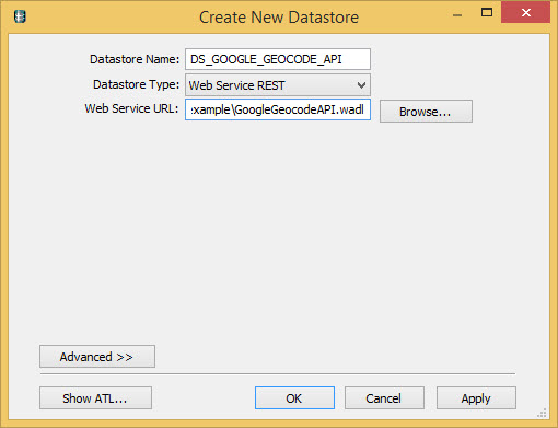 Consuming REST Web Service in SAP Data Services using Web
