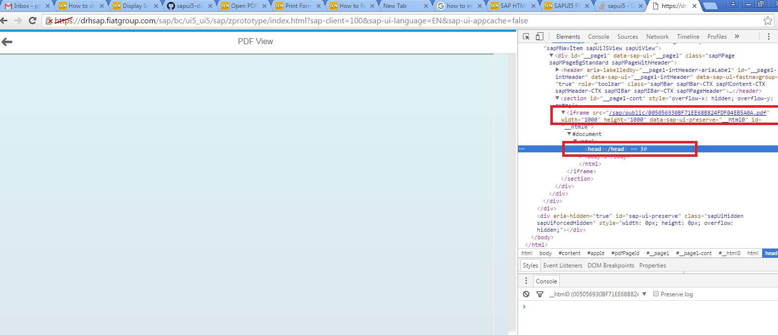 Display Smartform (PDF) in SAPUI5 | SAP Blogs