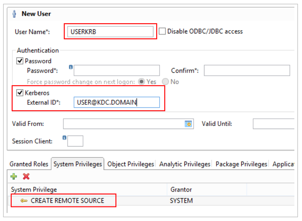 Introduction to Kerberos Constrained Delegation – SAP HANA