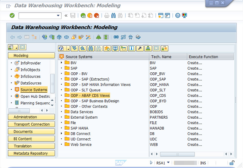 Data Provisioning Supportability of SAP S/4HANA On-Premise